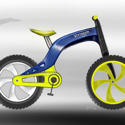 Kids bike design
