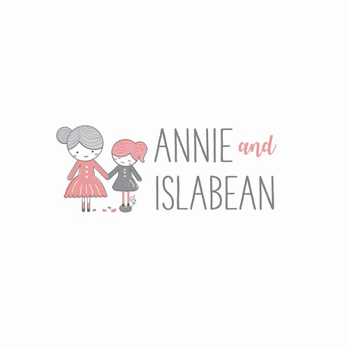 Creative and adorable logo for the children's boutique.