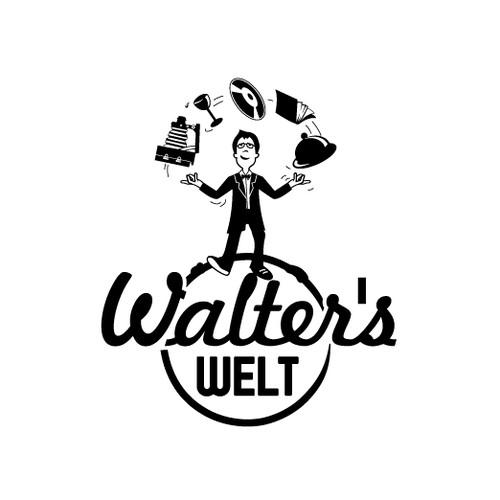 Walter's Welt benötigt ein Logo/Signage/Illustration