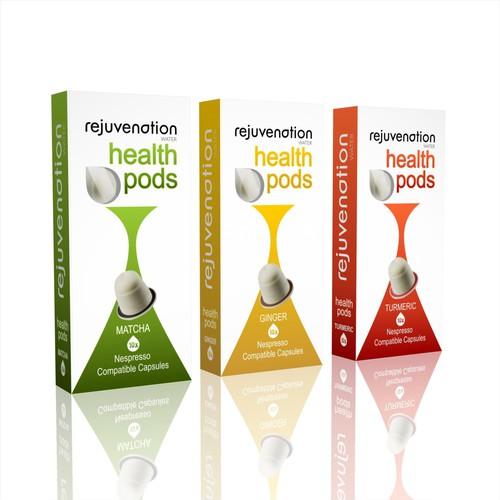 Innovative Nespresso Health Pods