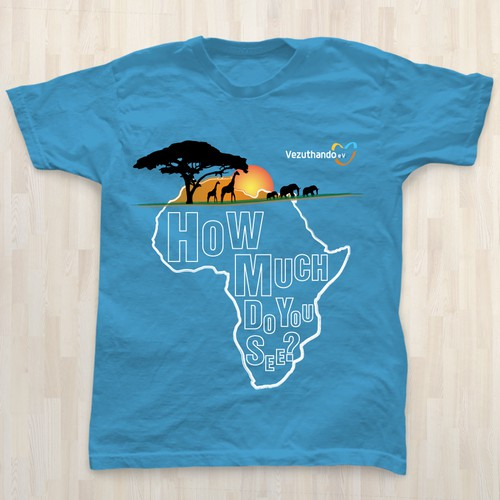 99nonprofits: we support Vezuthando with a newT-Shirt Design
