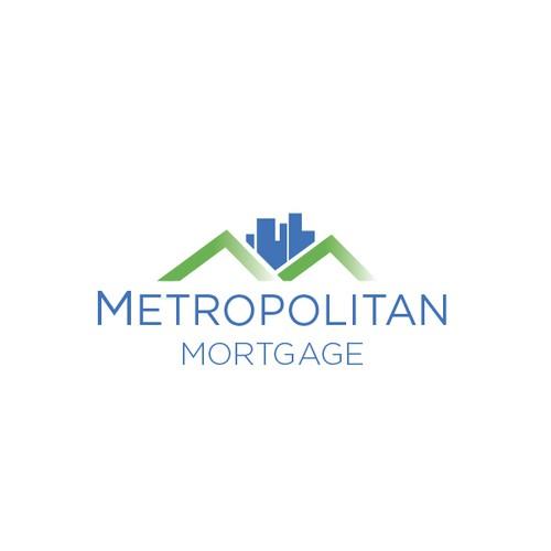 Create a new logo for Metropolitan Mortgage