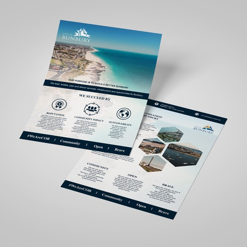 Tourism Flyer Design