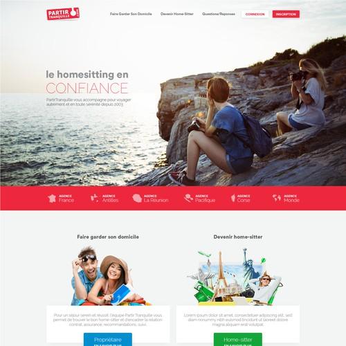 Premieum Design For Homesitting Company