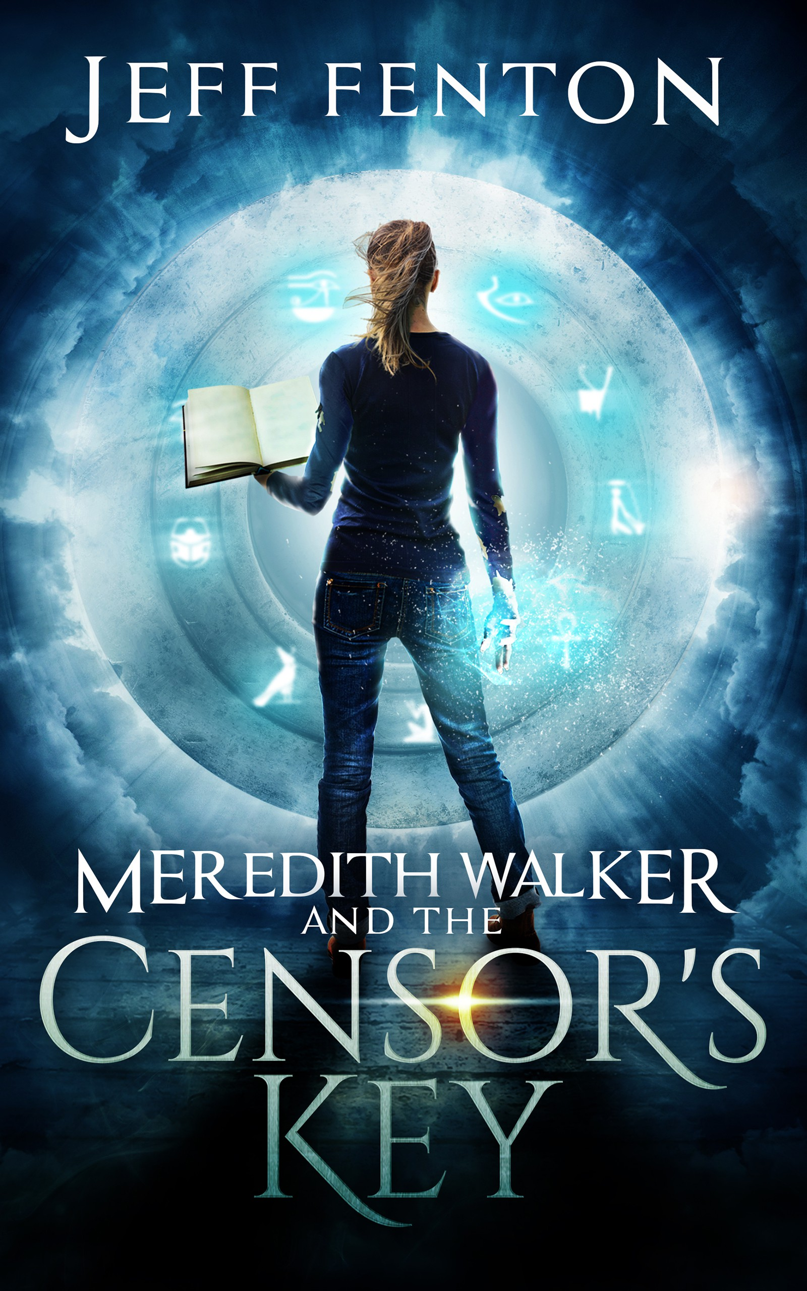 book cover for teen young adult book Meredith Walker And The Censor's Key