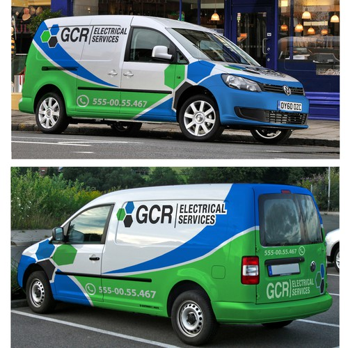 New signage wanted for GCR Electrical Services