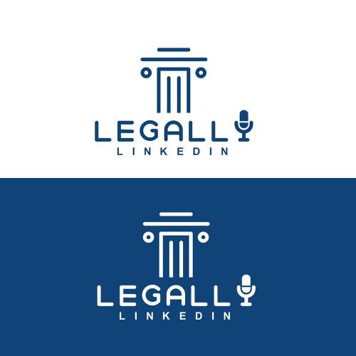 line logo for legally