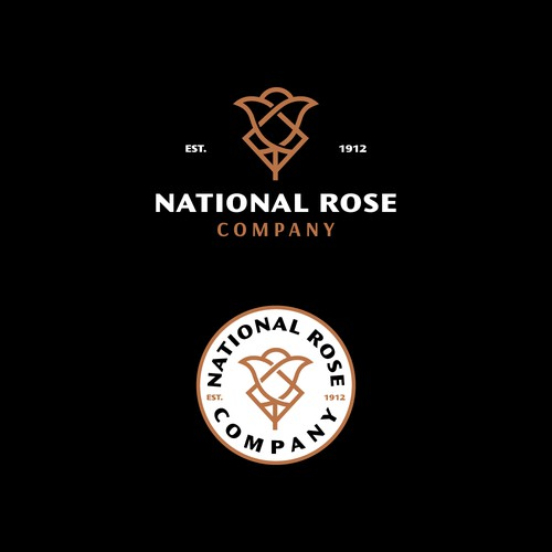 Logo concept for National Rose