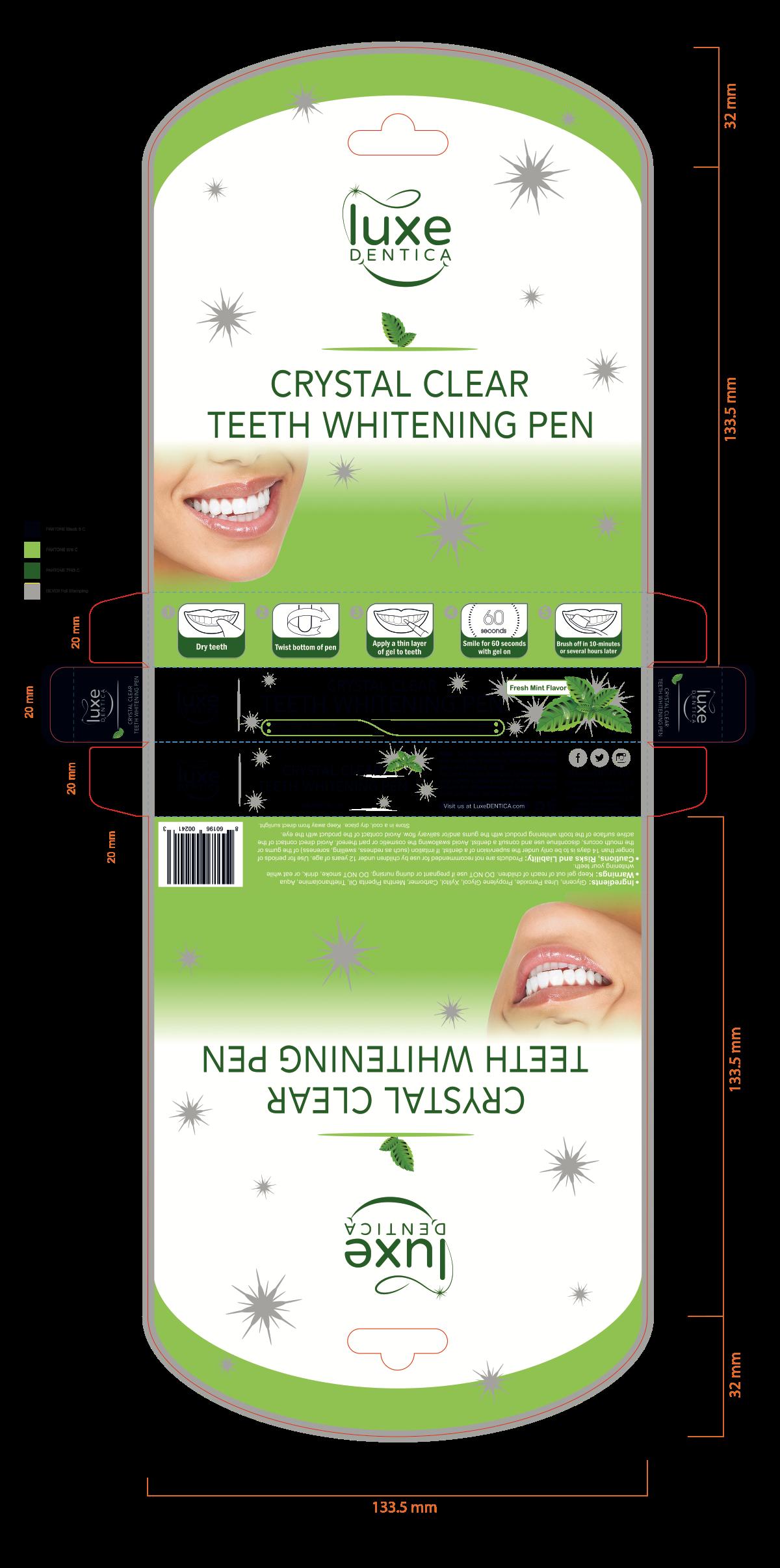Supplementary package for Teeth Whitening Pen