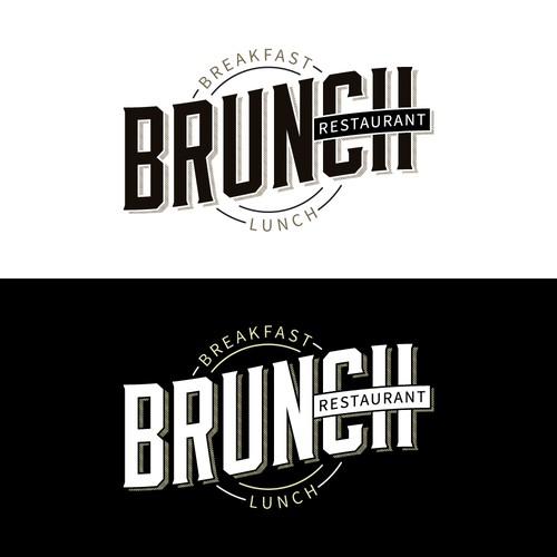 Logo for a Brunch Restaurant