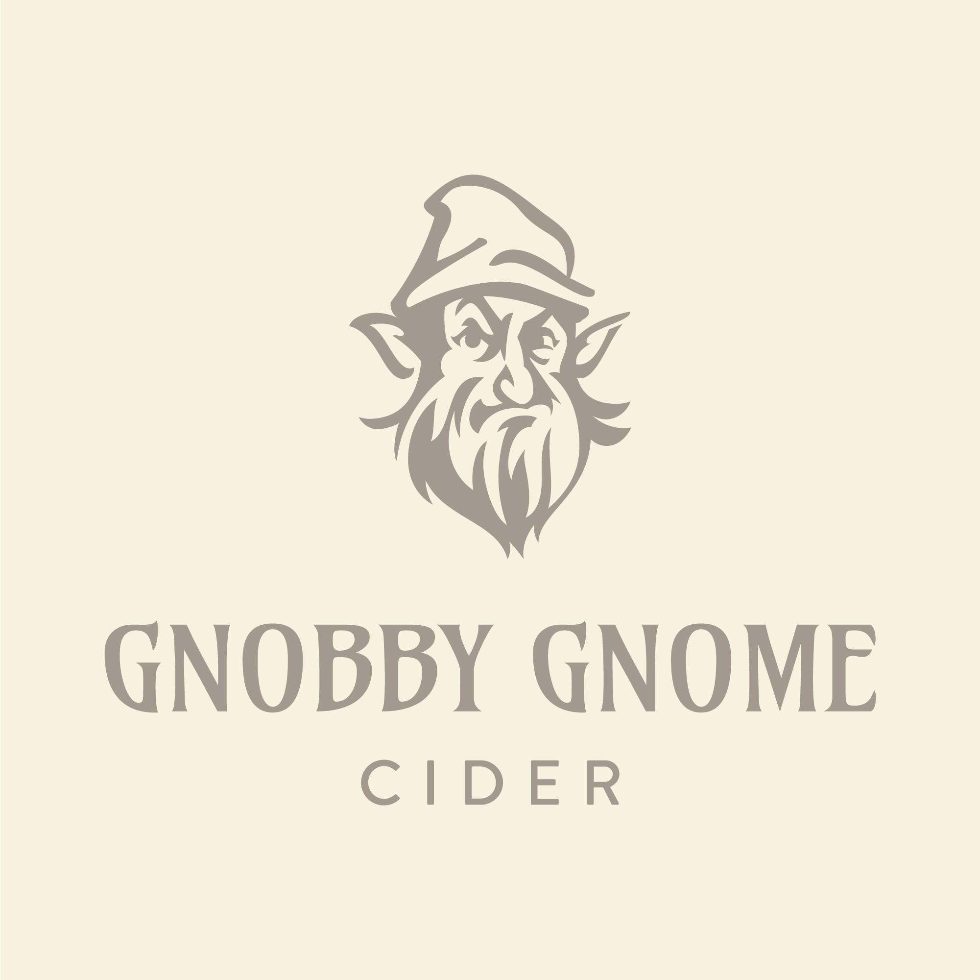 Gnobby Gnome Cider Logo