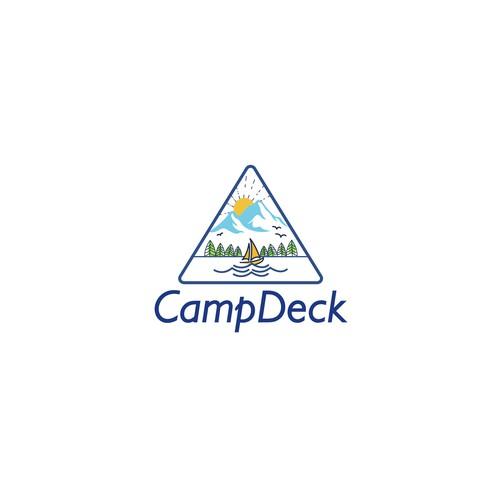 logo for freedom sharing platform - CampDeck