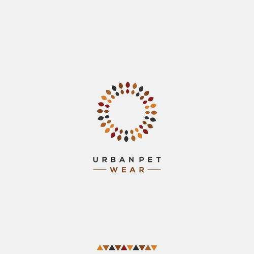 Logo design for Urban Pet Wear | Handmade pet collars with African touch