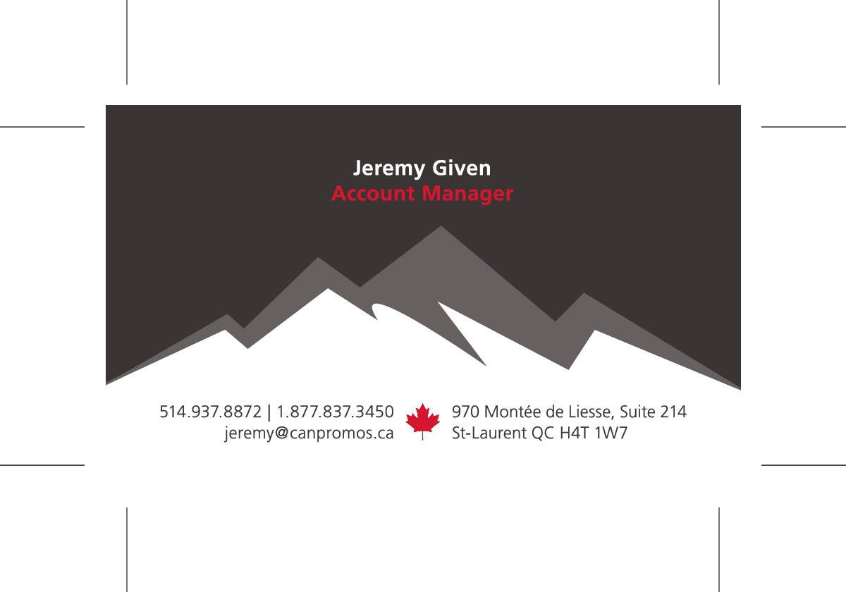 New Employee - Business Cards