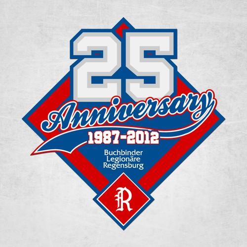 Buchbinder's 25 Anniversary logo