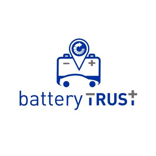 Clean and modern design for BatteryTrust