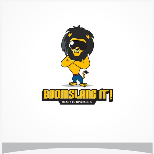 "logo for ""BOOMSLANG IT!"""