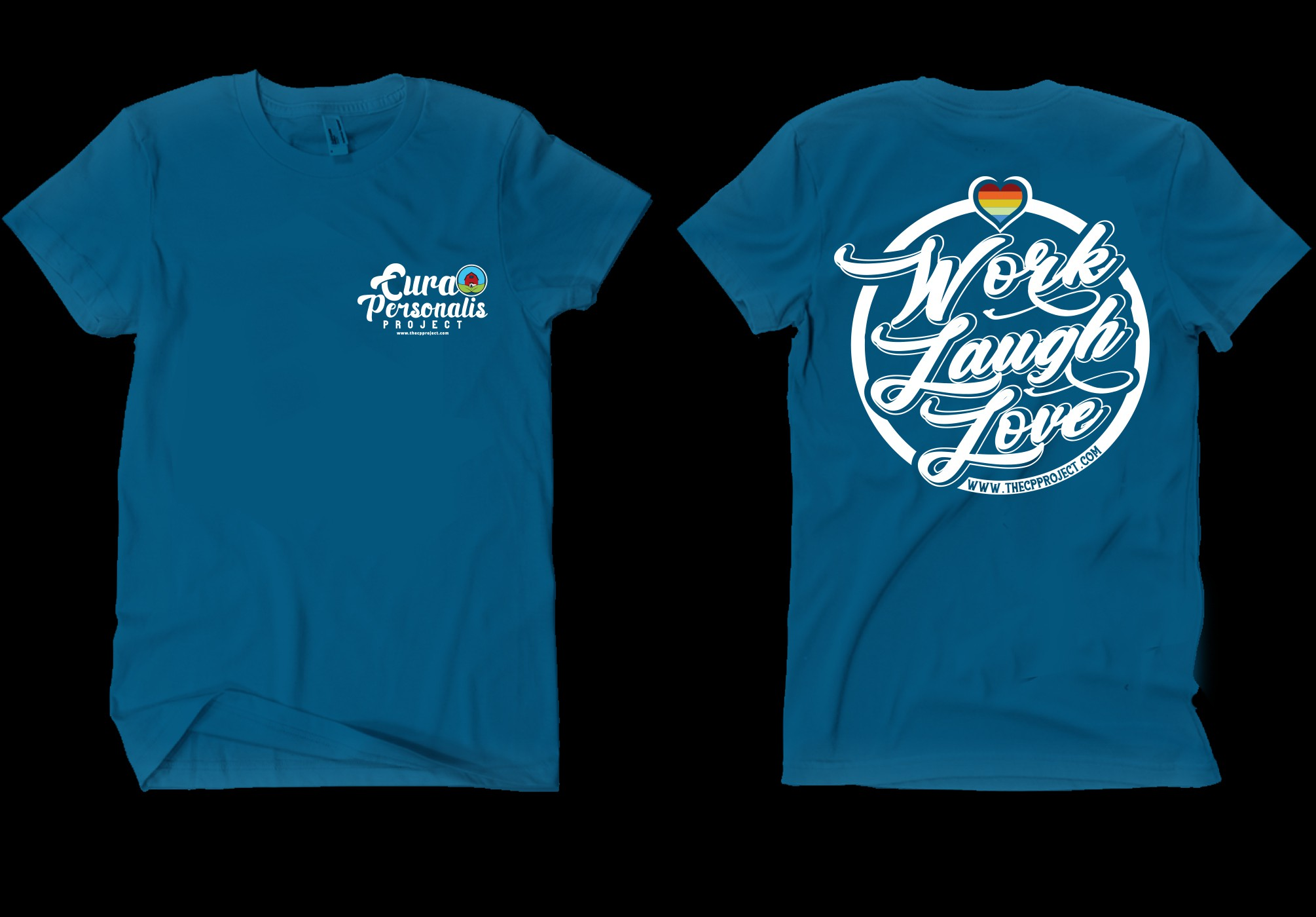 Want an eye-catching new t-shirt design for our staff and participants.