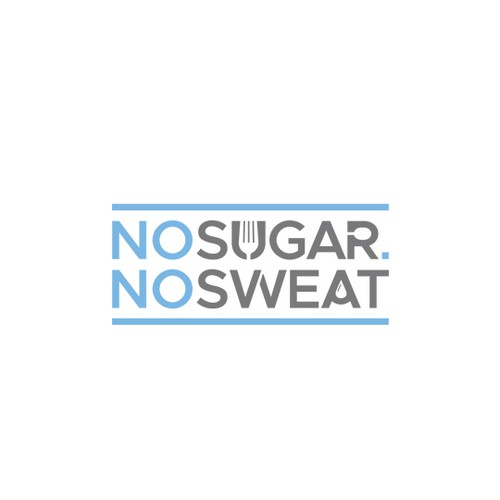 Logo for food blog No Sugar No Sweat