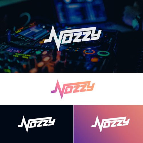 DJ NOZZY Logo