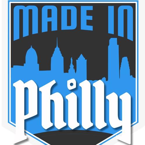 Philadelphia themed logo