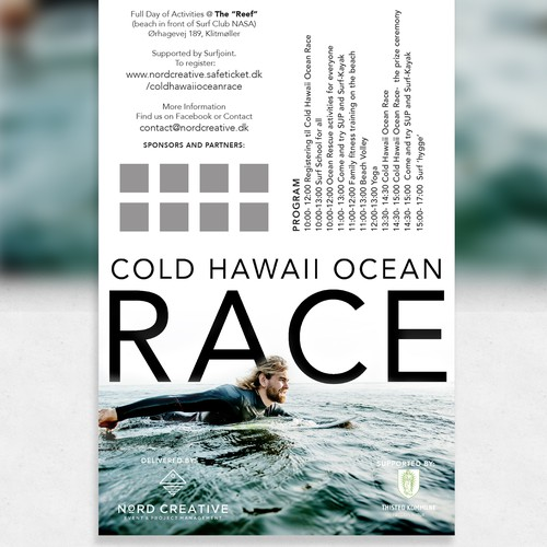 Clean and Cool Surf Poster