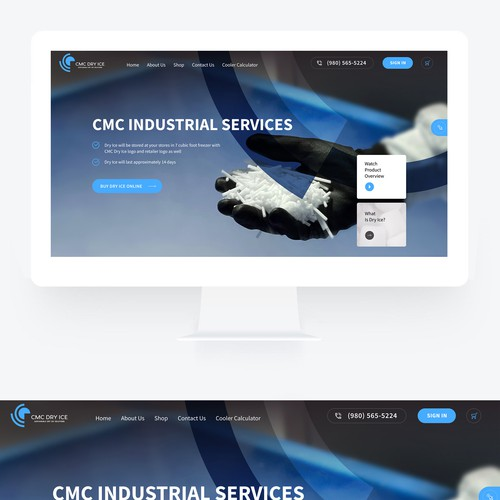 Website for company which manufacture and sell Dry Ice to retail, food service industry, biomedical, and pharmaceutical and much more.