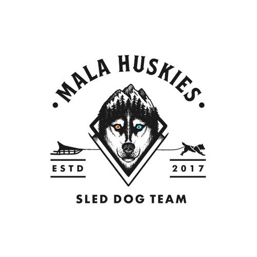 Logo Design for Mala Huskies