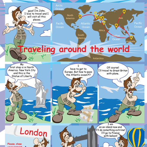 Design for new children's activity book