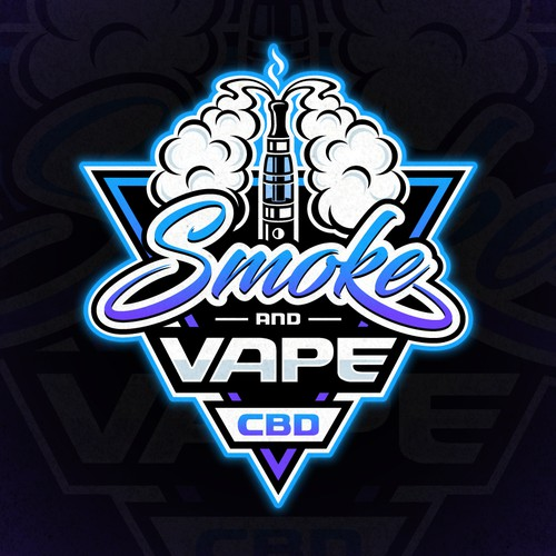 Logo design for smoking and vaping store