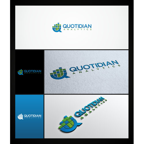 Quotidian Analytics -- new logo will be prominently displayed