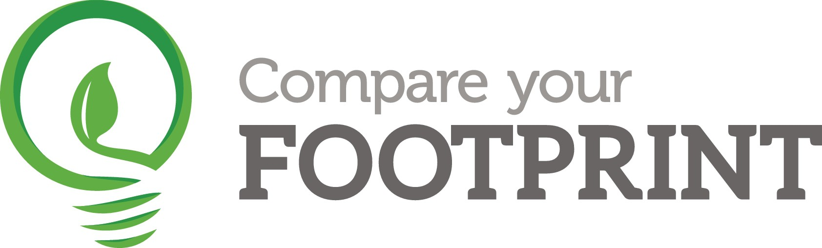 Create a logo for Compare Your Footprint