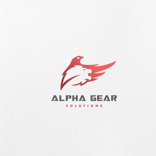 Strong powerful Apex predator outdoor & hunting logo