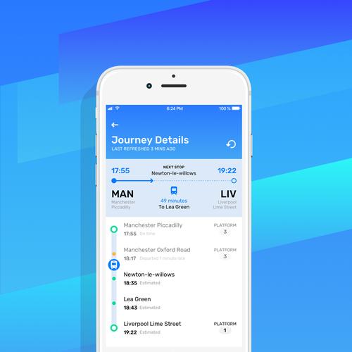 iOS App for Railboard, UK based train times