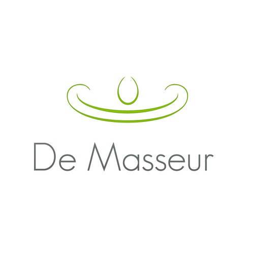 AN INSPIRING LOGO FOR A MASSAGE THERAPIST