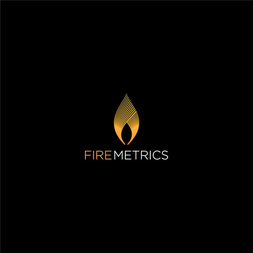 Design an elegant logo for Fire Metrics