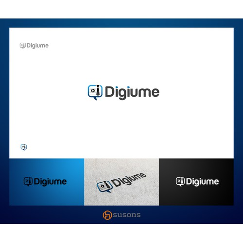 Create the next logo for Digiume