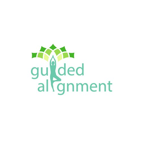 Logo guided alignment
