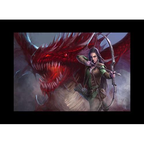 Illustration for fantasy book