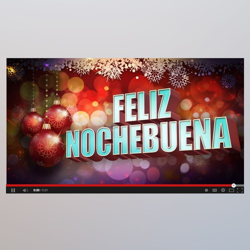 Youtube cover Feliz Nochebuena
