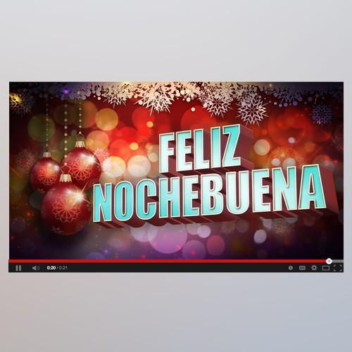Youtube cover Feliz Nochebuena