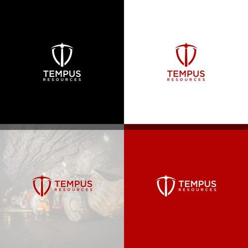 TEMPUS RESOURCES LOGO DESIGNS