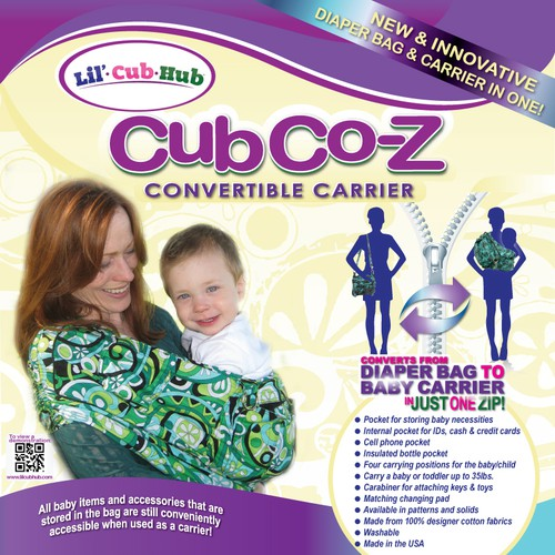 Help Lil' Cub Hub with a new packaging or label design
