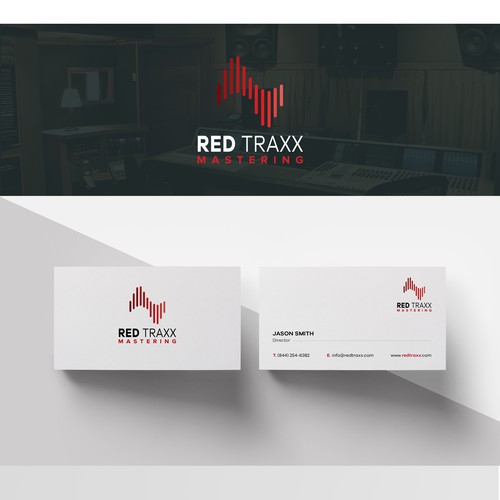 Logo concept for studio record.