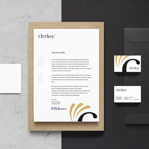 Clerksy stationery