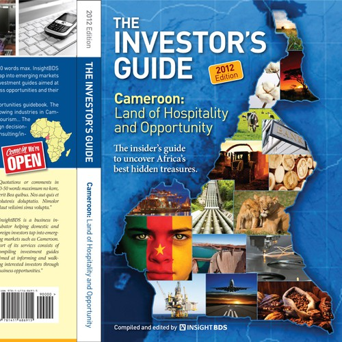 New bookcover design for investment opportunities guidebook