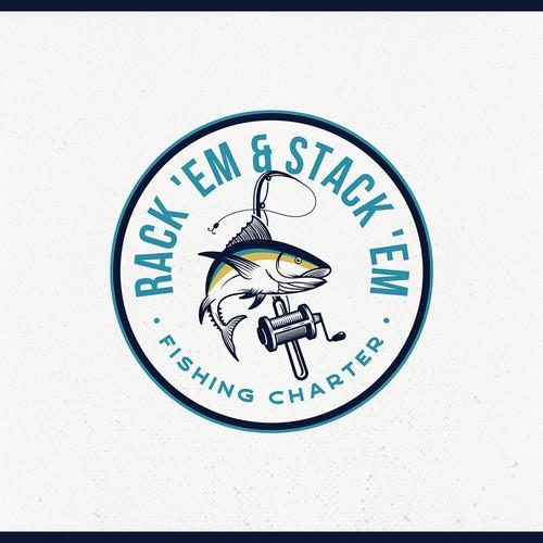 Logo Design for Fishing Charter
