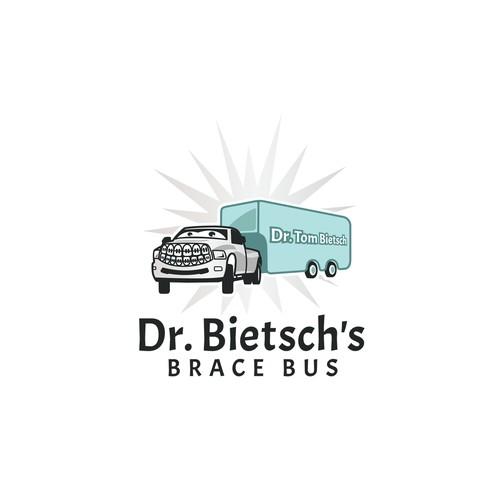 Logo for Dr. Bietsch's brace bus