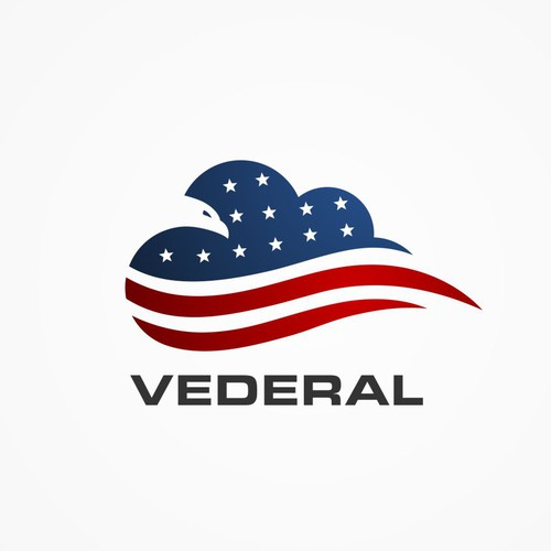 Vederal powerful new patriotic/cloud/technology logo