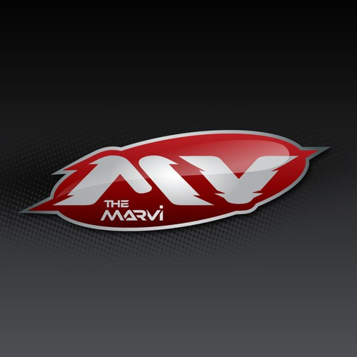 TheMarvi.com Website & Sports Apparel Logo - High-Exposure Logo